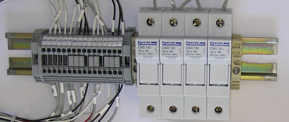 Din Rail Assemblies Connect 2 Technology